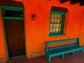 Place to sit in Taos